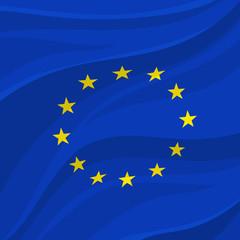 European Union flag or banner of Europe