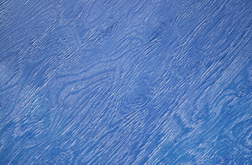 Texture of blue painted wooden board