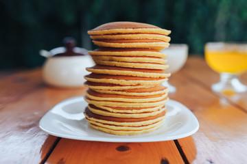 pancake, food, breakfast