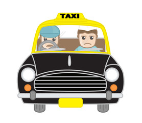 Sad Politician Character in Taxi