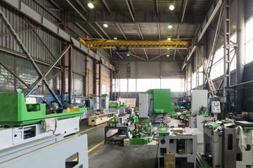 New metalworking machines.