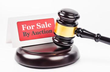 Auction sales concept.