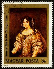 Portrait of Countess Ilona Zrinyi