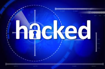 Hacked computer
