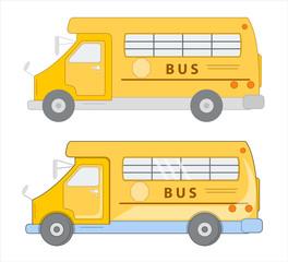 School Bus Vector Designs