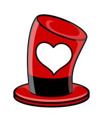Valentine Heart Hat