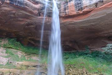 Waterfall at Jardin de las Delicias (Garden of Delights), Santa Cruz, Bolivia