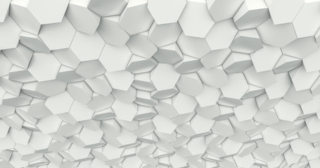 hexagon geometric background