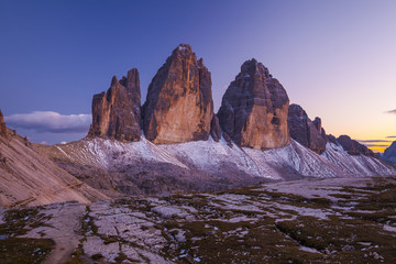 Italy, Trentino-Alto Adige, Bolzano district, Alta Pusteria, Dolomiti di Sesto Natural Park