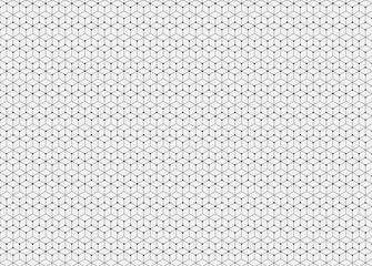 Abstract pattern. Hexagon repeating geometric background and filled triangles in nodes. Modern stylish texture.  Trendy hipster geometry. Vector