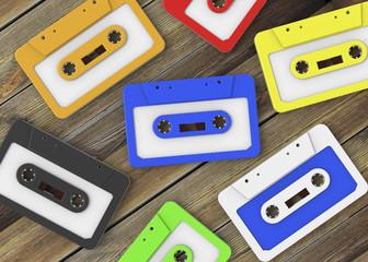 Cassette Tape - 3D