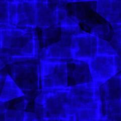 Dark blue digital polygon cubes business technology design