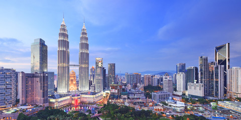 Malaysia, Selangor, Kuala Lumpur, Petronas Towers
