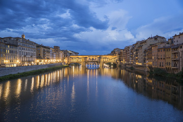 Italy, Tuscany, Firenze district, Florence, Ponte Vecchio