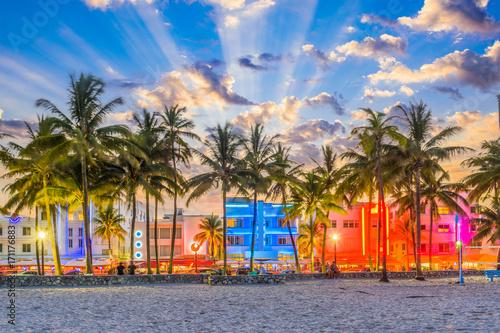 Fototapete Miami Florida USA