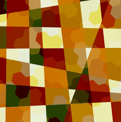 Abstract Vector Graphic Design