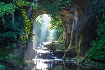 Zelfklevend Fotobehang Asia land 千葉県 濃溝の滝