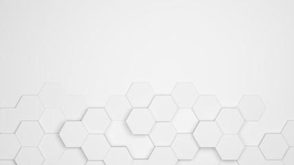 Hexagon Waben Muster als Hintergrund