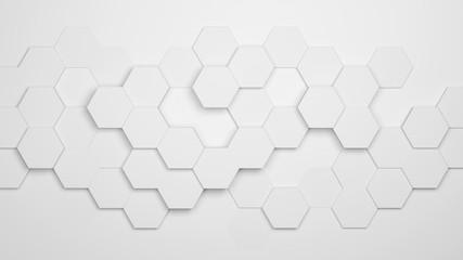 Hexagon Hintergrund mit Waben Muster