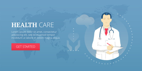 Health care banner