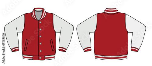 illustration of varsity jacket stock image and royalty free vector