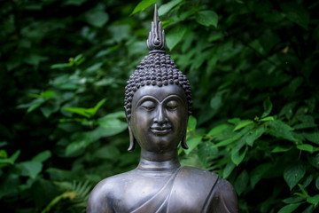 Asian statue of Buddha