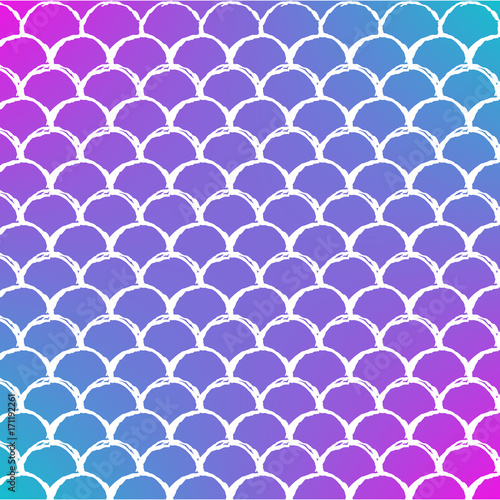 Mermaid scale on trendy gradient background square backdrop with mermaid scale on trendy gradient background square backdrop with mermaid scale ornament bright color stopboris