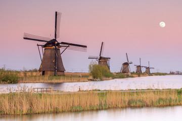 Netherlands, South Holland, Kinderdijk