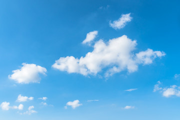 夏の青空と浮雲2