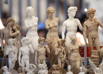Tuinposter Xian Figuren in Rom