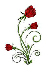 Valentine's Day Rose Flowers