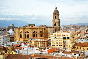 Cathedral of Malaga, Andalusia, Spain