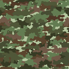 green camo seamless pattern. vector illustration.