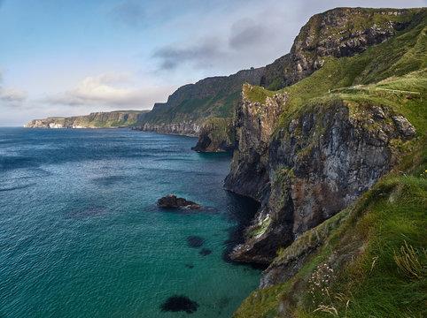 Cliffs near Ballintoy, Northern Ireland