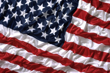 Stars and stripes United States of America national flag