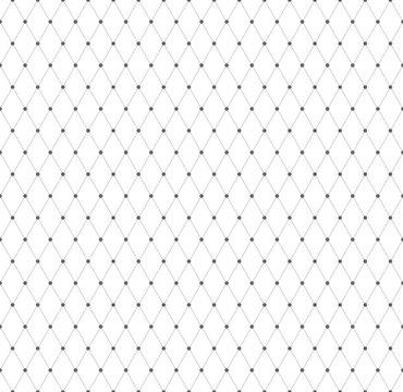 Seamless diamonds pattern. Mesh texture.