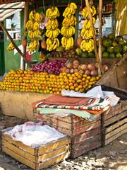 Fresh produce on the market in Addis Ababa Ethiopia
