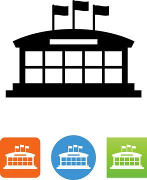 Event Center Icon - Illustration