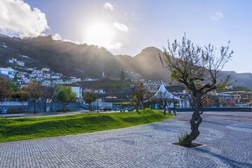 Wall Mural - Porto Moniz village at Madeira island, Portugal