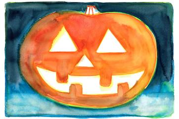 ハロウィンのかぼちゃ作ったよ