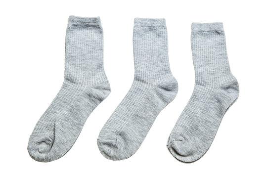 Men's Socks isolated on white
