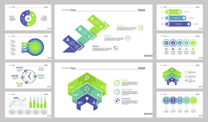 Creative chart template set