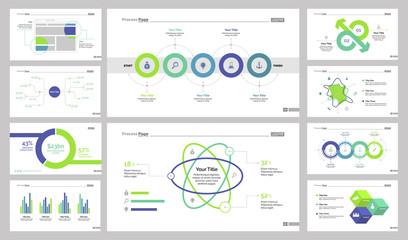 Infographic design set