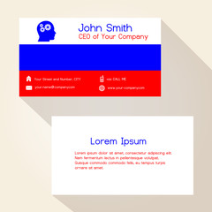Nederland flag color business card design eps10 buy this stock see more reheart Gallery