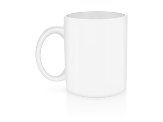 Cup for your logo and design Mock up Vector Template