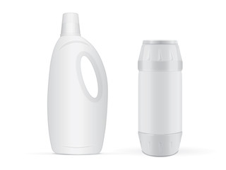 Plastic bottle for your design and logo.