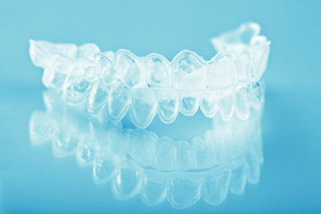individual teeth tray for whitening