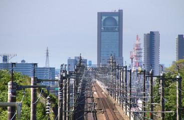 福島県を走る新幹線