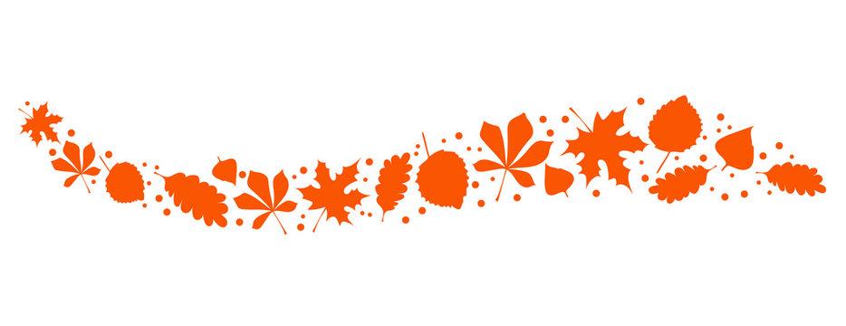Natur Blätter Orange