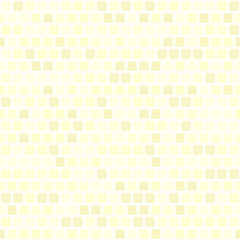 Yellow square pattern. Seamless vector
